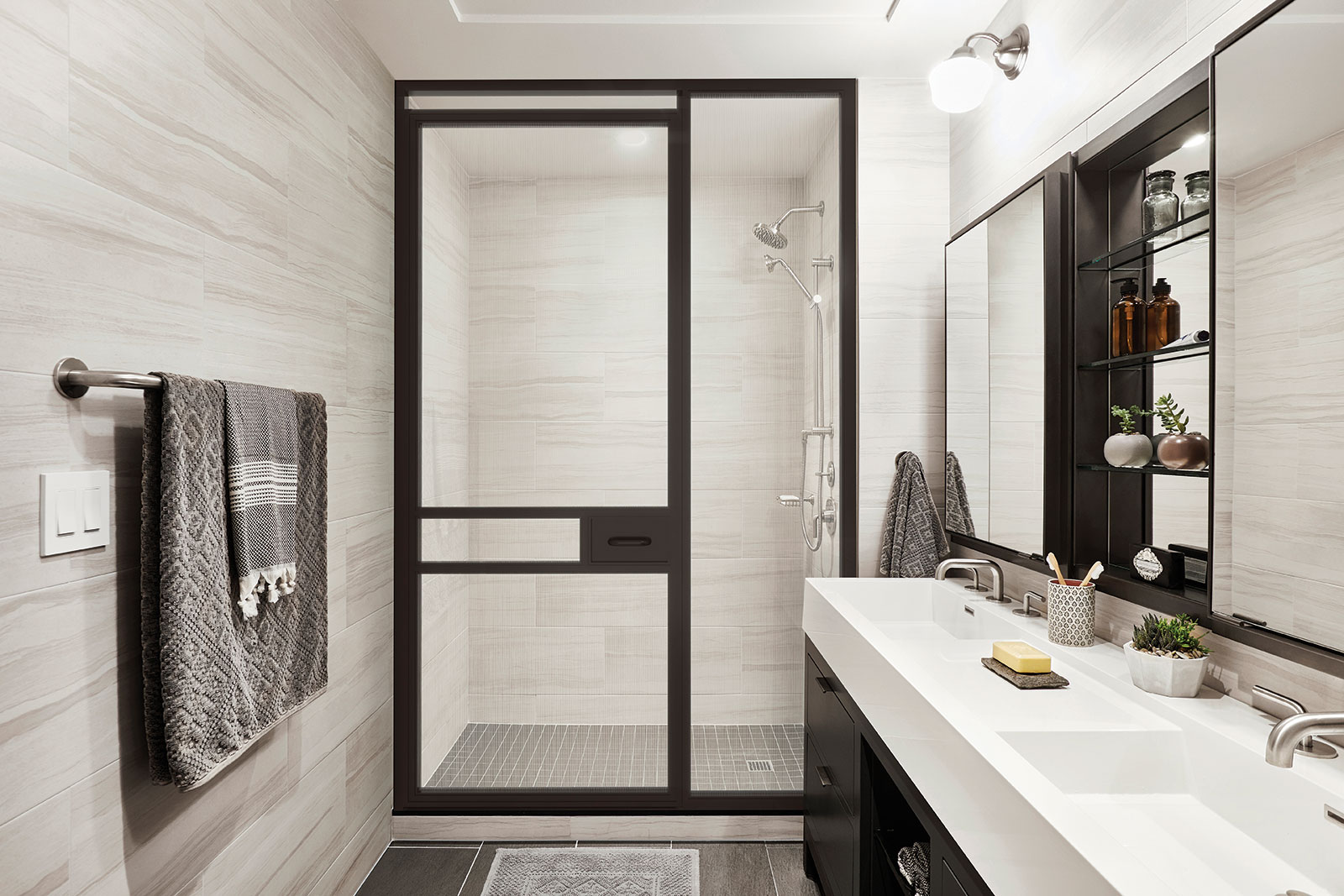 East Village Master Bath