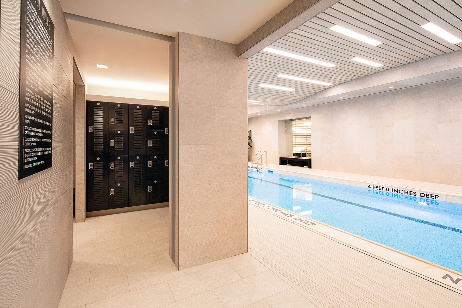 Saltwater Lap Pool & Lockers